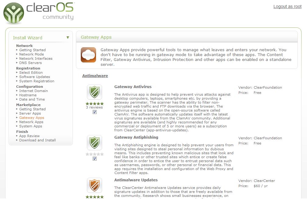 Gateways apps