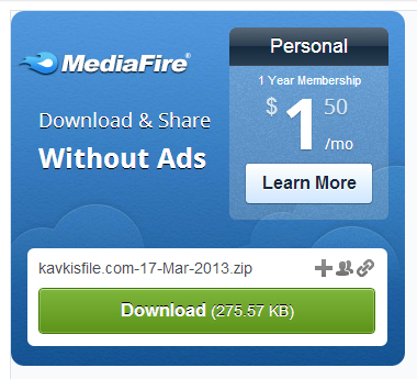 Mediafire keys download
