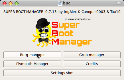 super boot manager burg