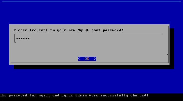 mysql password