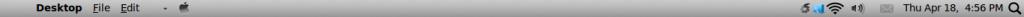Backtrack 5R3 Mac OSX panel edit