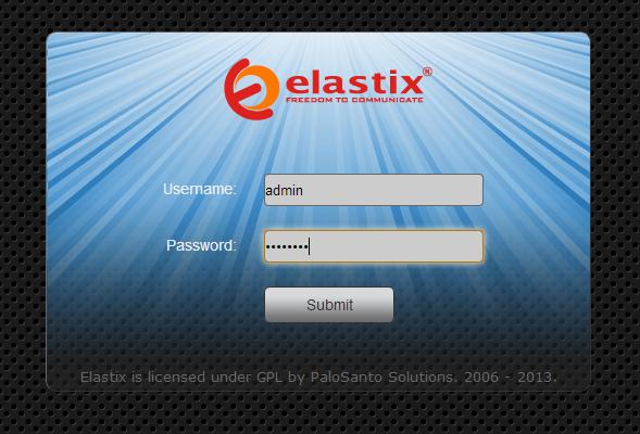 elastix login