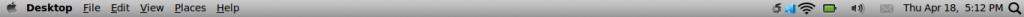 Mac OSX Panel Backtrack 5R3