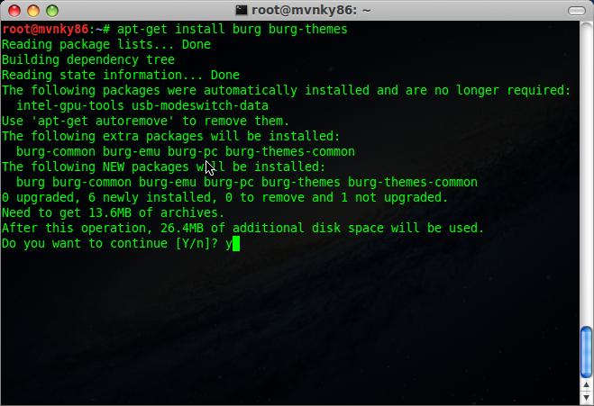 install burg burg-themes