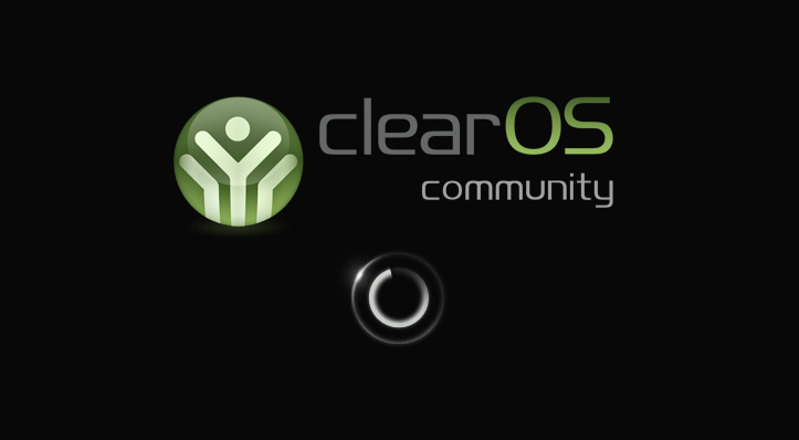 ClearOS Running