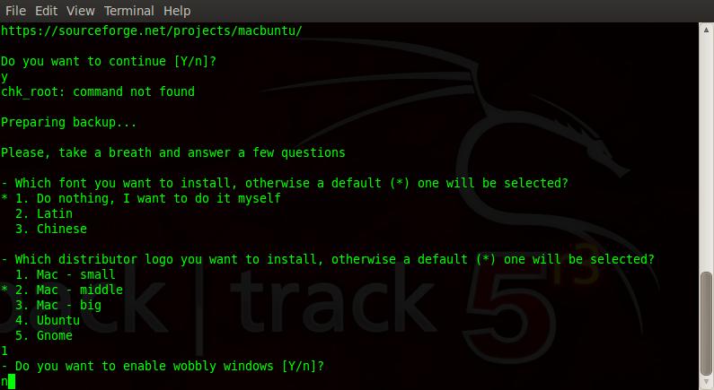 select mac small logo macbuntu backtrack 5R3