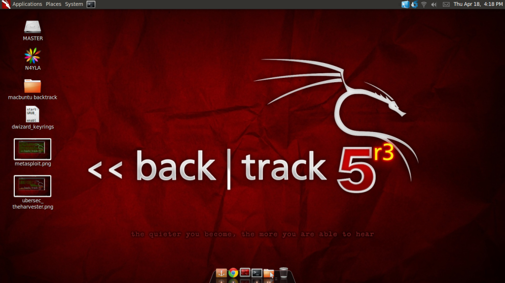 Desktop Backtrack 5R3