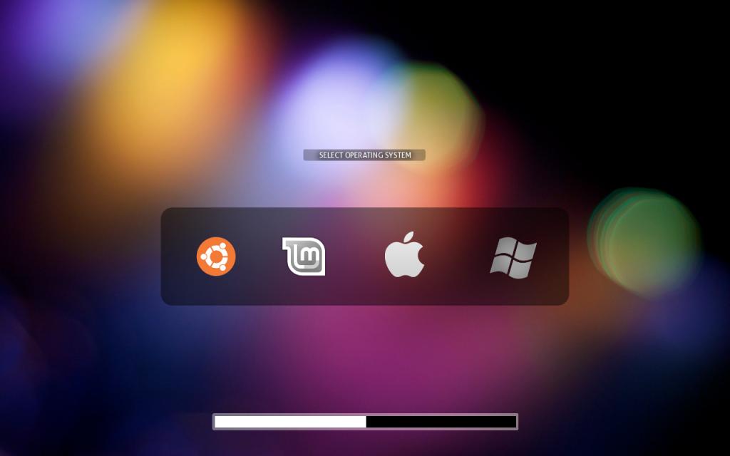 install burg themes