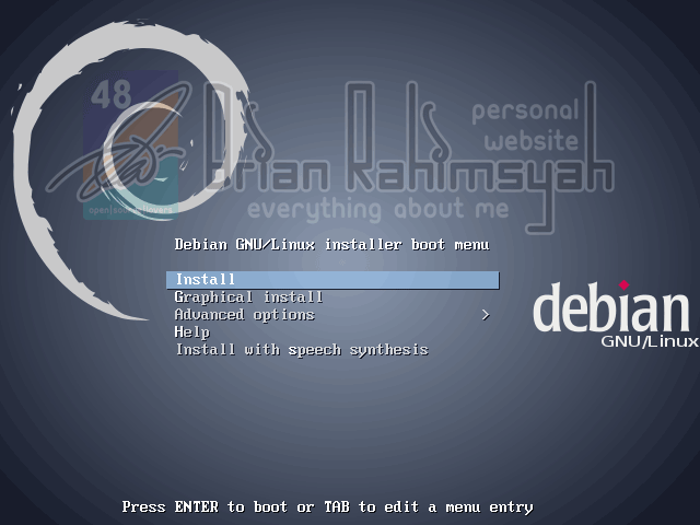 Debian 7 Wheezy Booting
